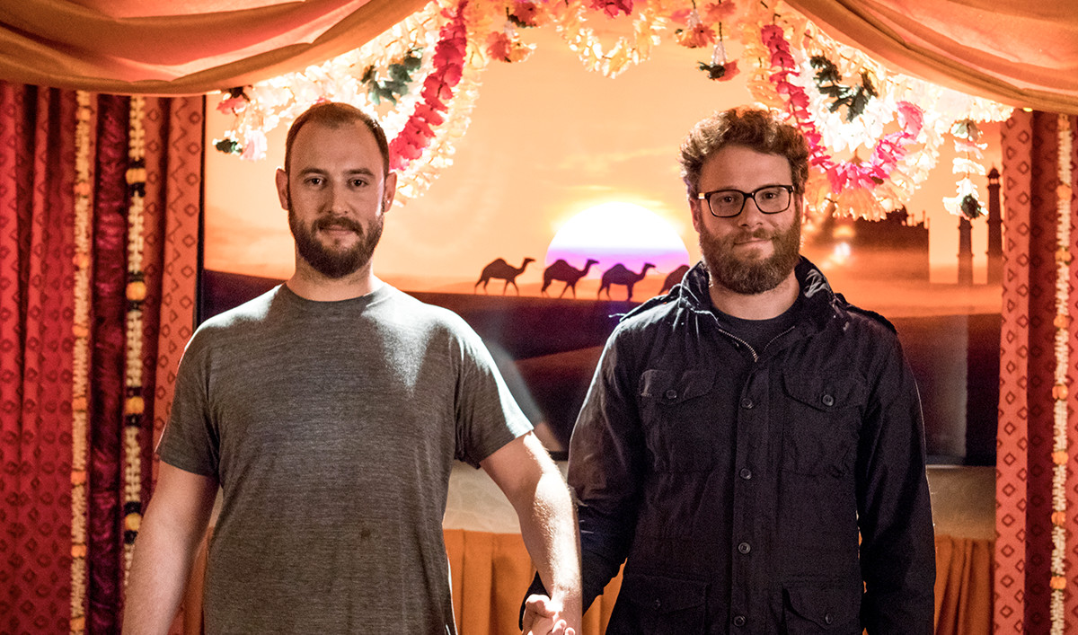 <em>Preacher</em> Q&#038;A &#8212; Seth Rogen and Evan Goldberg (Executive Producers)
