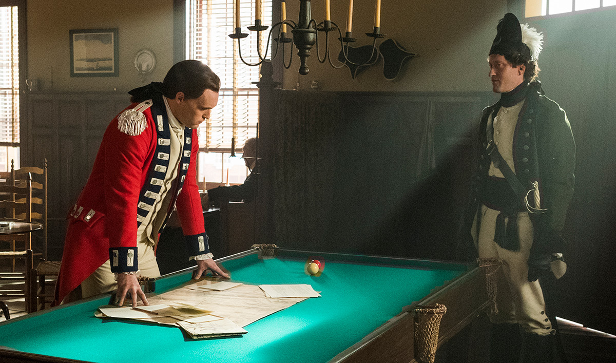 <em>TURN: Washington's Spies</em> Season 4, Episode 4 Extras