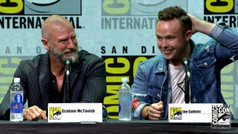 To Play Arseface: Comic-Con Panel Highlights: Preacher: Season 2