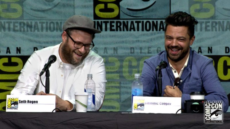 Seth Rogen in Preacher: Comic-Con Panel Highlights: Preacher: Season 2