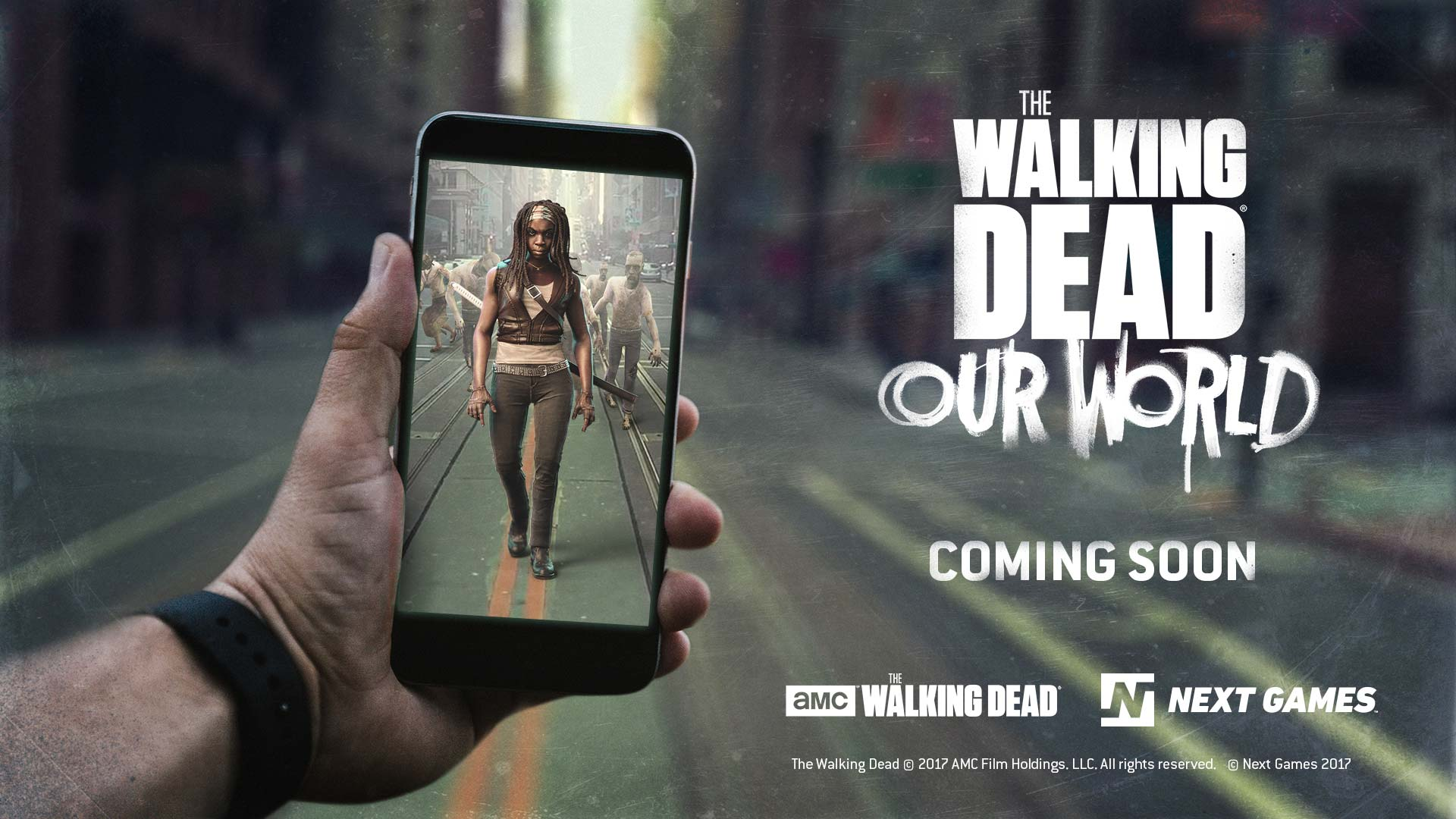 Image result for the walking dead our world