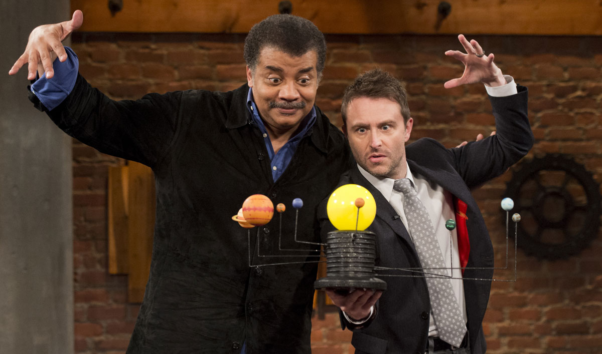 Neil deGrasse Tyson Reveals His Favorite Time Travel Movie on the Latest <em>Talking with Chris Hardwick</em>