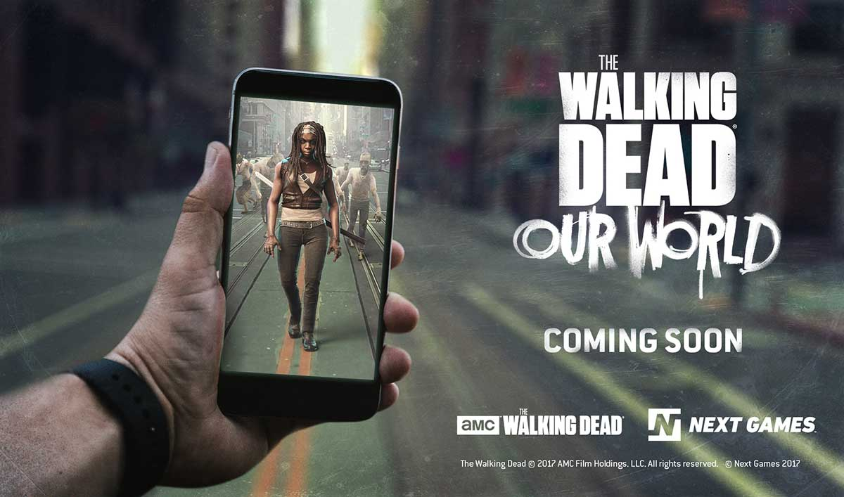 Teaser Trailer for <em>The Walking Dead: Our World</em> Location-Based AR Game