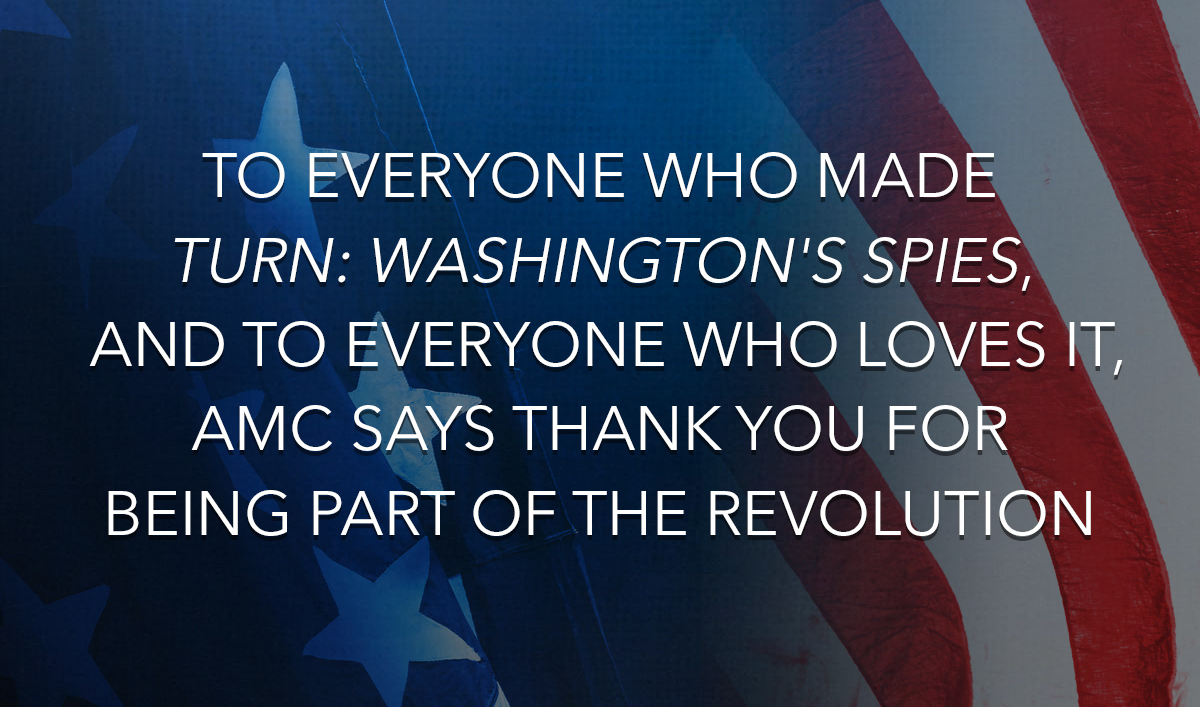 Thank You for Being Part of the Revolution