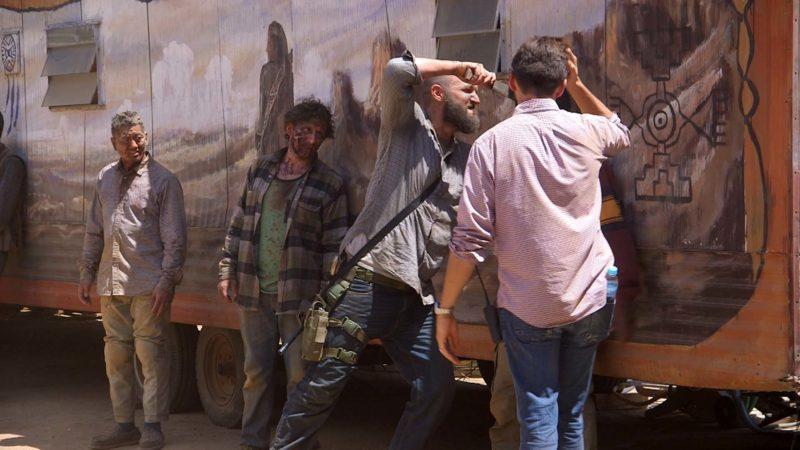 "(SPOILERS) Fear the Walking Dead: Making of Episode 12's ""Badass Death"""