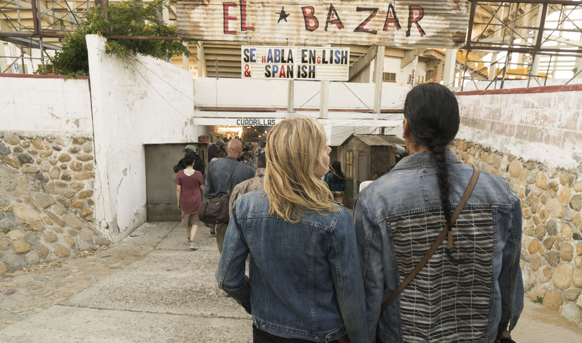 How 30 Days of Planning and 10 Days of Building Went Into the Bazaar in <em>Fear the Walking Dead</em> Episode 10