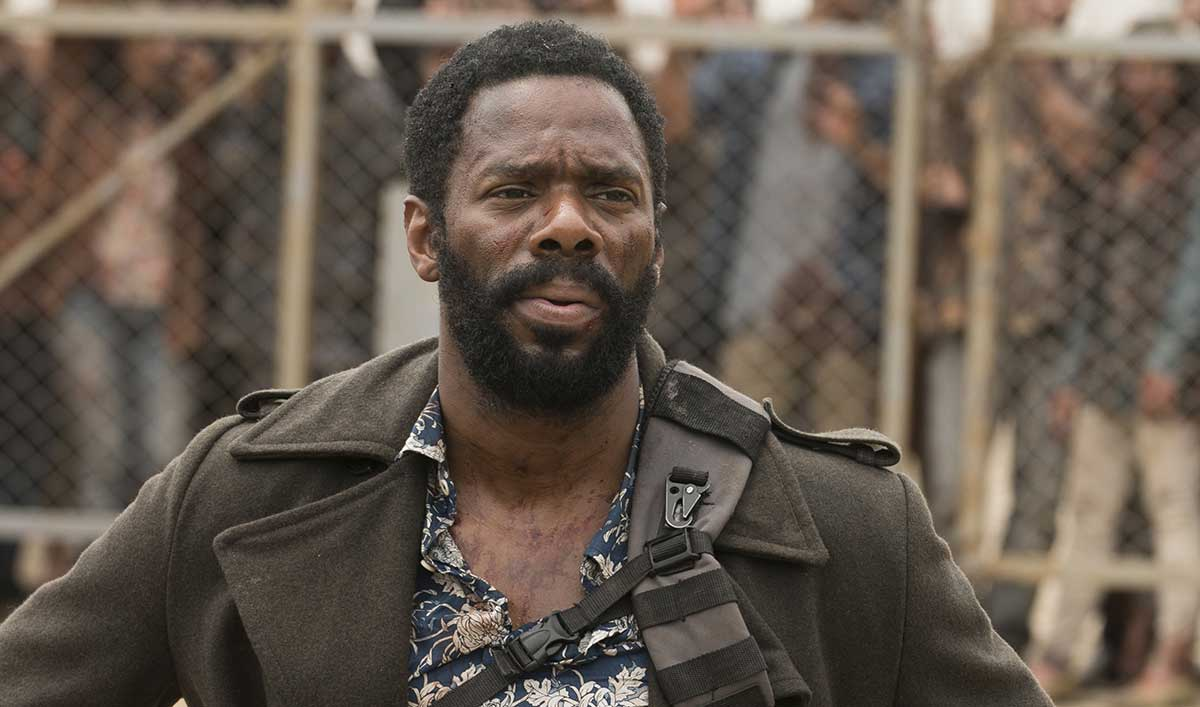 (SPOILERS) <em>Fear the Walking Dead</em> Q&A — Colman Domingo (Strand)
