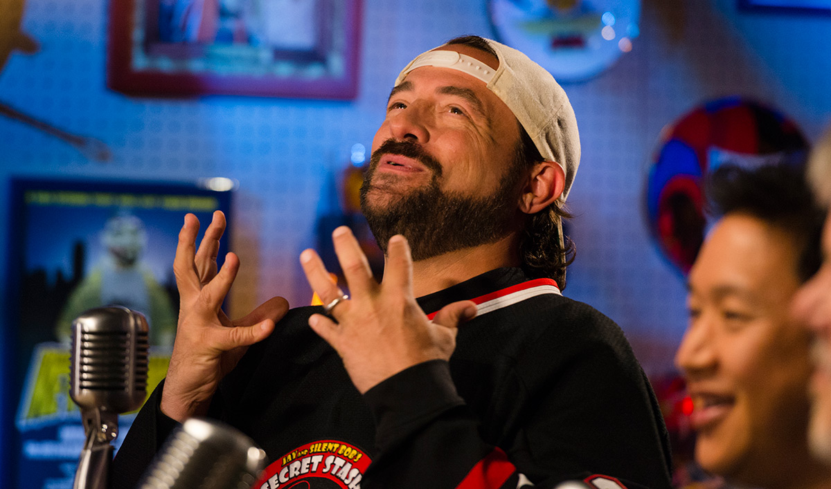 Kevin Smith and the Guys Discuss <em>The Walking Dead</em>'s Comic Book Origins