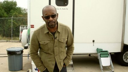 Fear the Walking Dead: Lennie James's First Day on Set