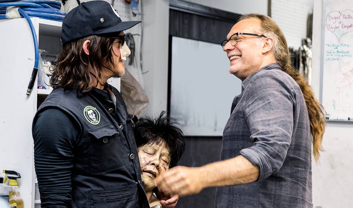 <em>Ride With Norman Reedus</em> Q&#038;A &#8212; Greg Nicotero