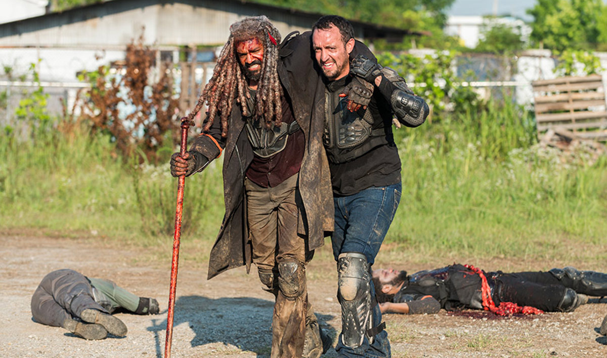 Khary Payton Talks Shiva With <em>EW</em>; <em>Yahoo</em> Interviews Melissa McBride