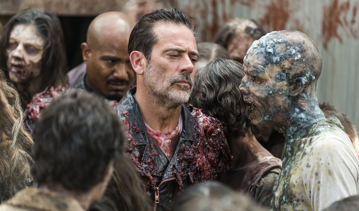 Inside the Surprising Confession Negan Makes to Father Gabriel in <em>The Walking Dead</em> Episode 5
