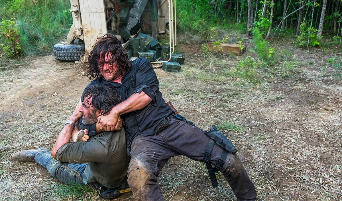 Norman Reedus Talks Brawling With <em>EW</em>; <em>THR</em> Interviews Seth Gilliam