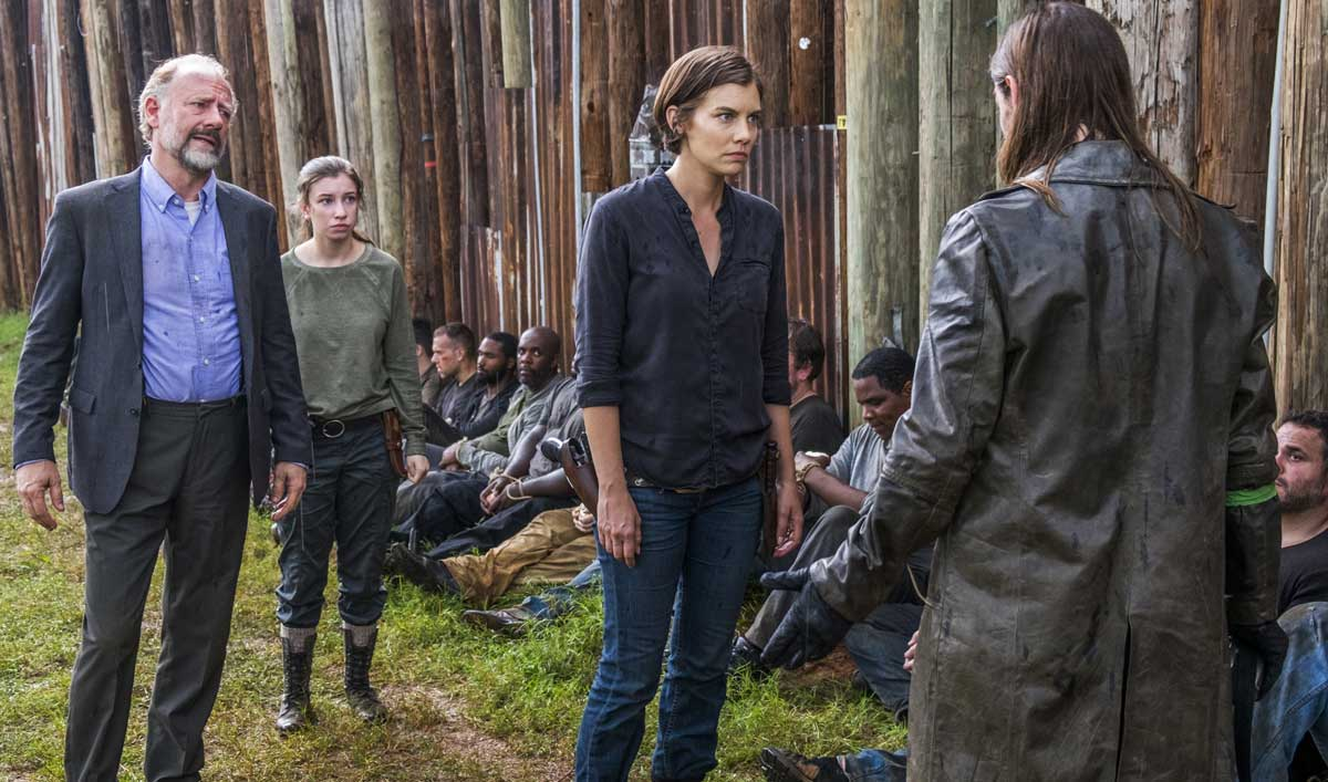 Cast and Creators on How Maggie Chose the Fate of the Saviors in <em>The Walking Dead</em> Episode 6