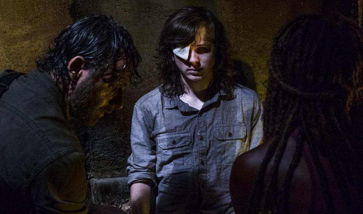 Go Inside <em>The Walking Dead</em> Mid-Season Finale's Somber Conclusion