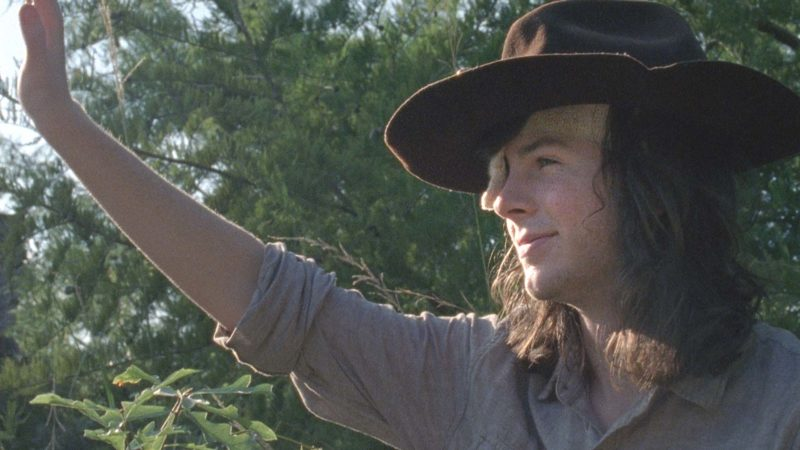 (SPOILERS) The Walking Dead: Carl's Farewell