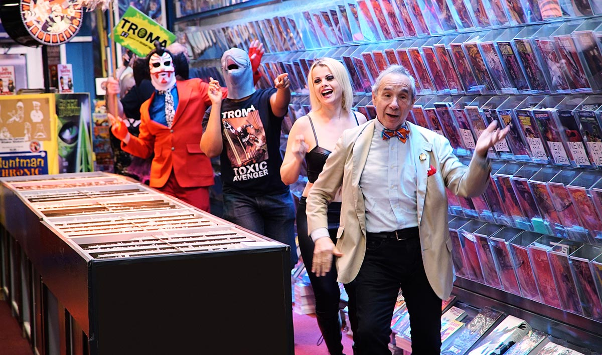 "The Stash Gets ""Troma-tized"" in the Latest Episode"