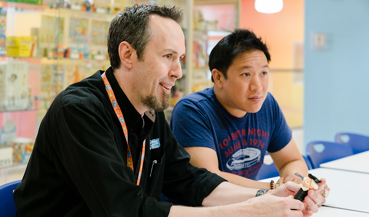 <em>Comic Book Men</em> Q&A – Shawn Peterson (PEZ Visitor Center)