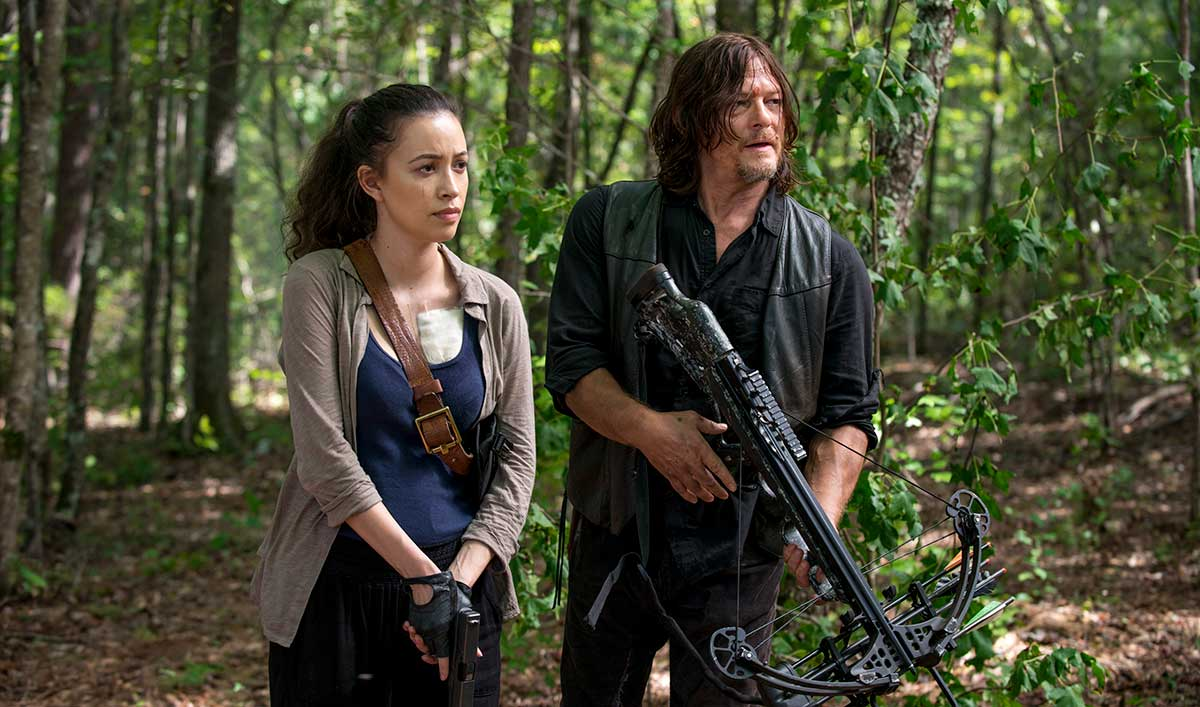 Extras for <em>The Walking Dead</em> Season 8, Episode 11