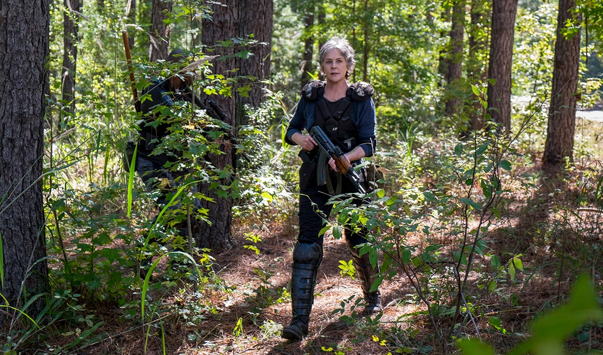 Extras for <em>The Walking Dead</em> Season 8, Episode 14