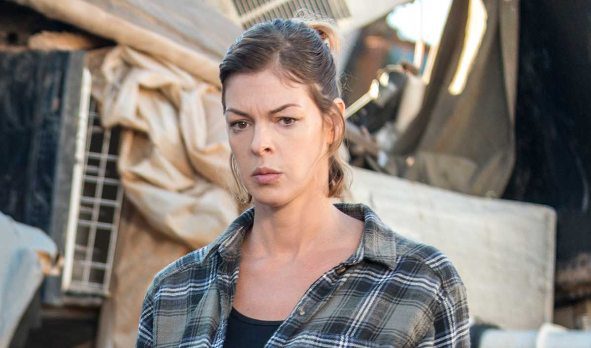 (SPOILERS) <em>The Walking Dead</em> Q&A — Pollyanna McIntosh (Jadis)