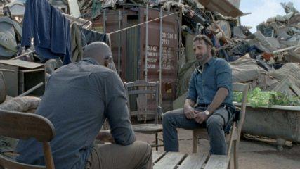 Crossover Scene From the Fear the Walking Dead Season 4 Premiere