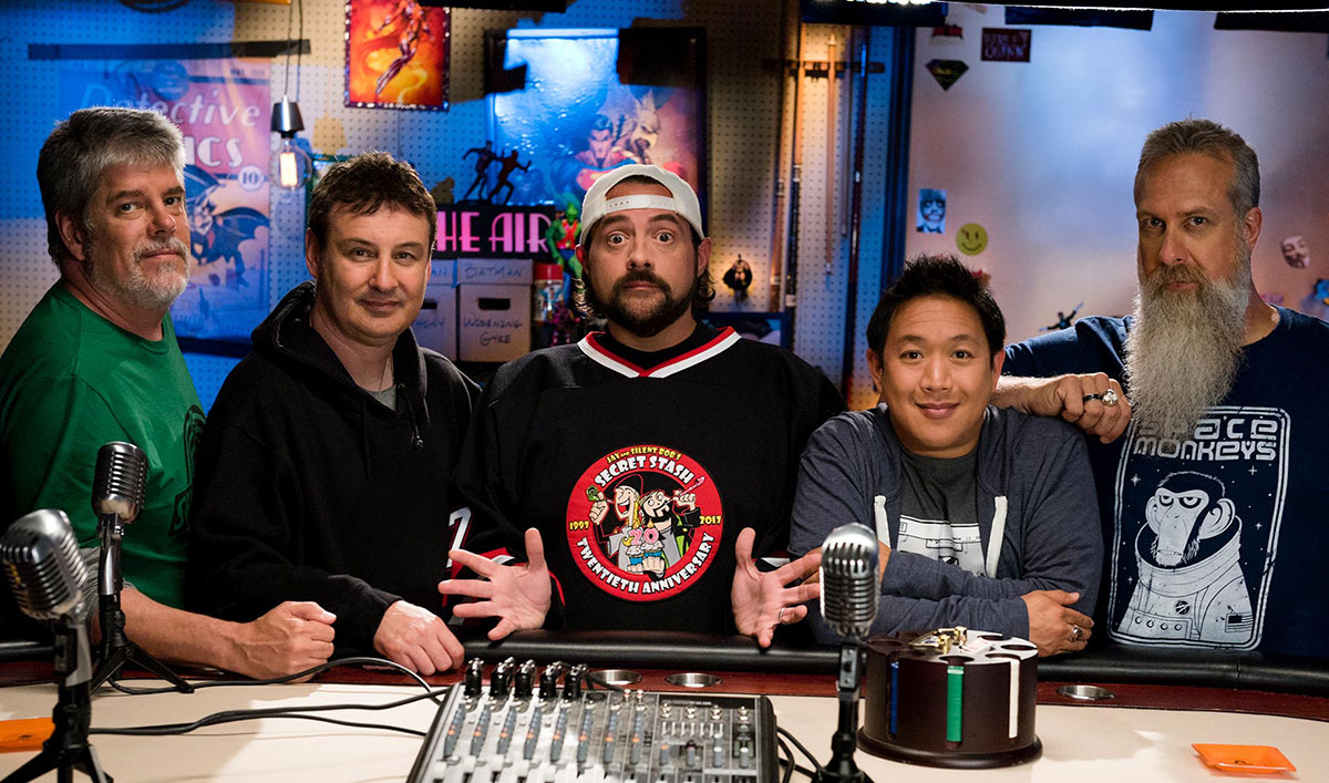 Kevin Smith and the Comic Book Men Attend the Grand Opening of Funko's New HQ