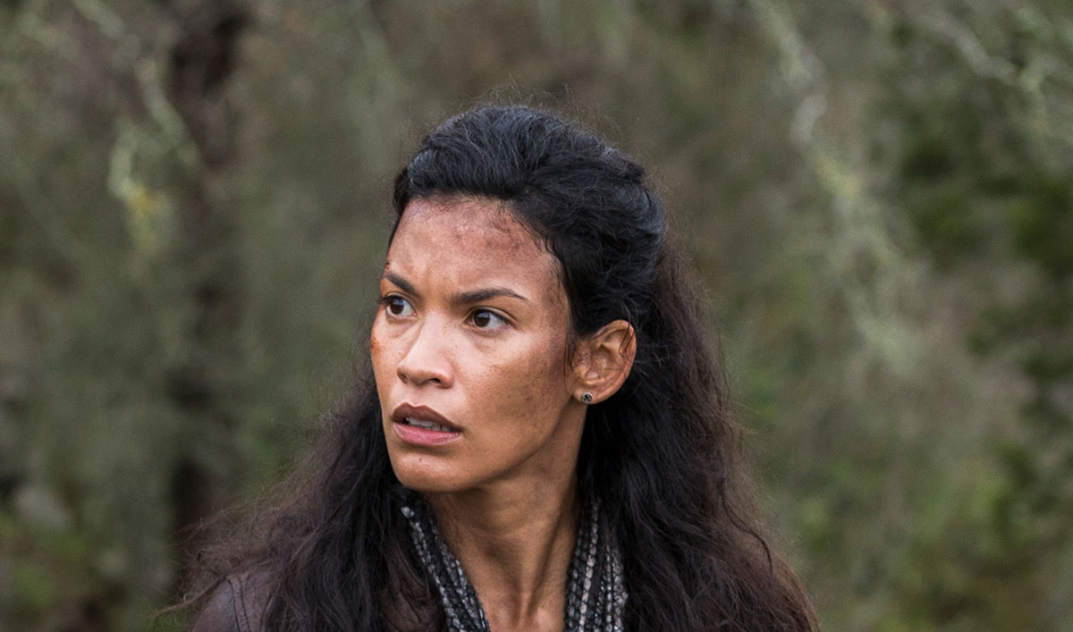 <em>Talking Dead</em> Airs This Sunday at 11/10c With Danay Garcia (Luciana)