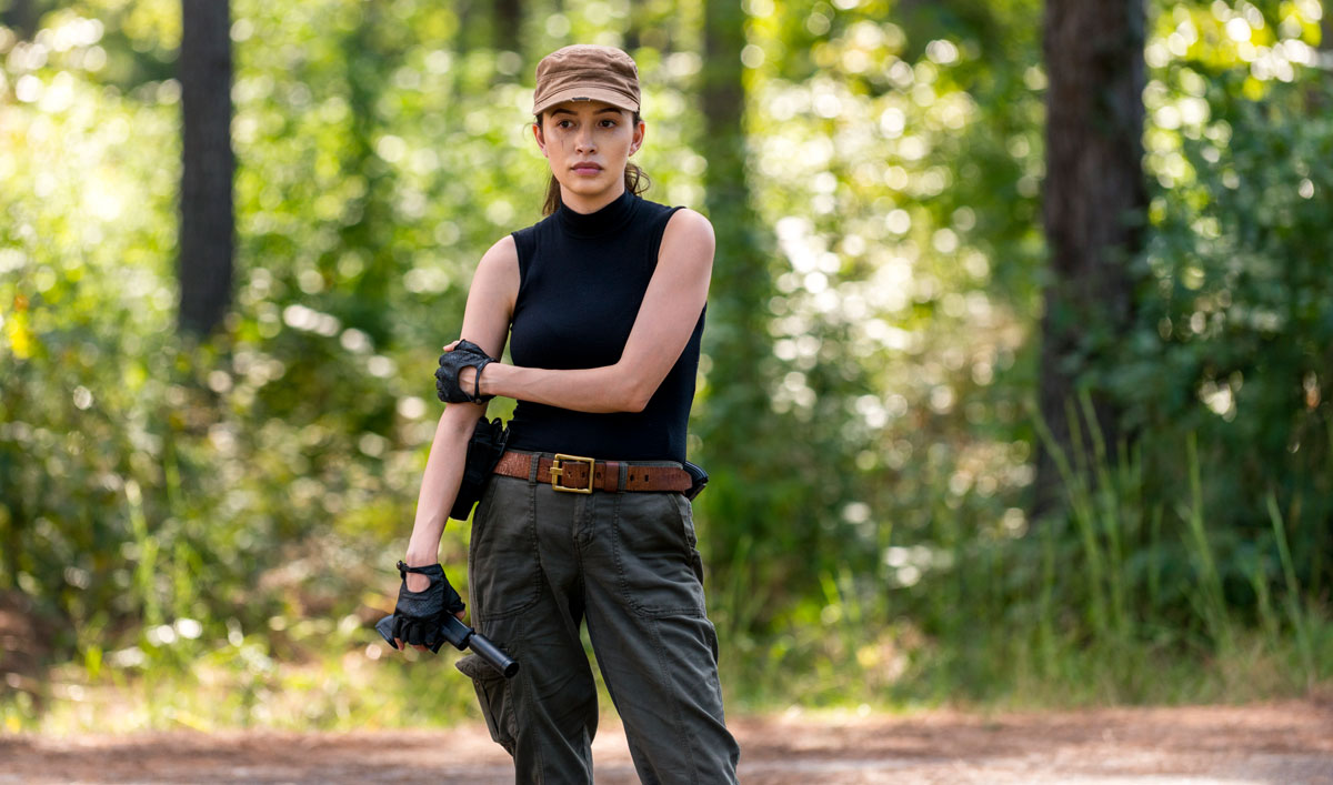 <em>Talking Dead</em> Airs This Sunday With Christian Serratos and Steven Ogg