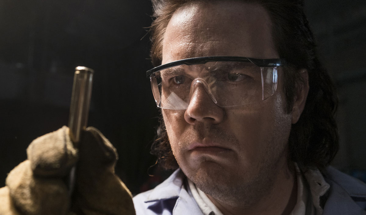 Sneak Peek of <em>The Walking Dead</em> Episode 15 — Eugene's Bullet Factory Is Falling Behind