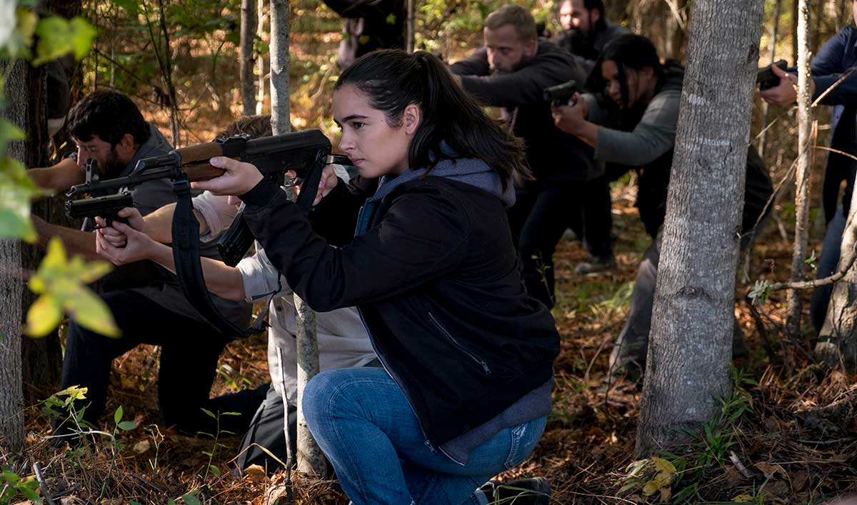 (SPOILERS) <em>The Walking Dead</em> Q&#038;A — Alanna Masterson (Tara)