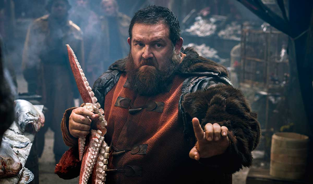 <em>Into the Badlands</em> Q&#038;A — Nick Frost (Bajie)