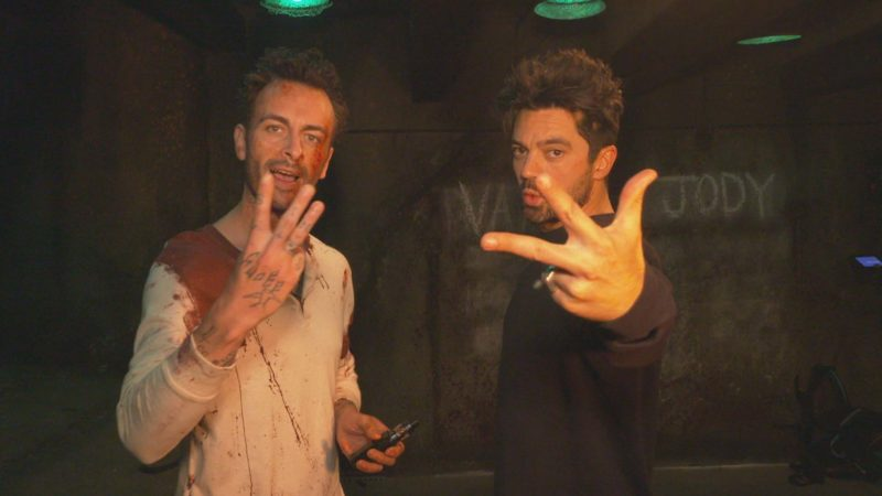 Preacher Set Tour With Dominic Cooper and Joseph Gilgun