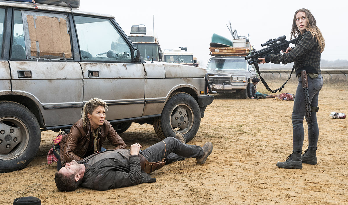 John Dorie's Life Hangs in the Balance in <em>Fear the Walking Dead</em> Episode 7