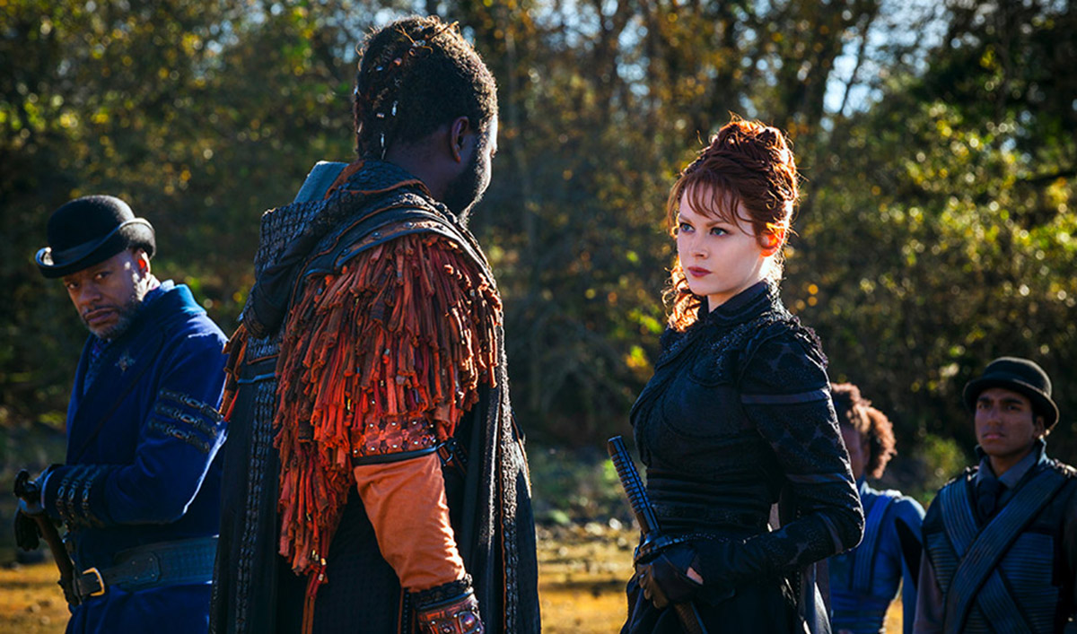 <em>Syfy</em>&#8216;s Emily Beecham Interview; <em>Variety</em> Talks to Show&#8217;s Production Designer