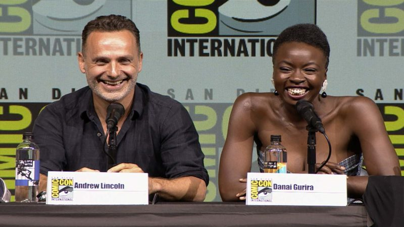 The Walking Dead Comic-Con 2018 Highlights: Danai Gurira on Getting Back in the Saddle