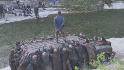 Making of Fear the Walking Dead: Season 4, Episode 11
