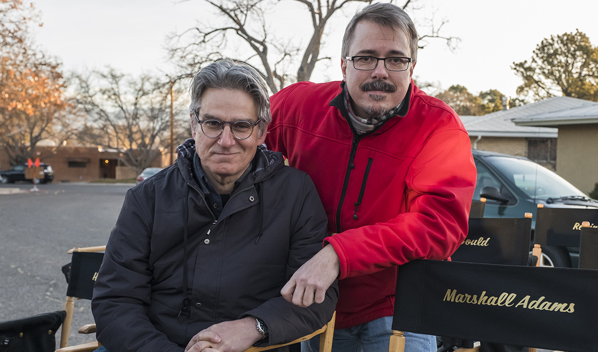 <em>Better Call Saul</em> Q&#038;A – Vince Gilligan and Peter Gould (Co-Creators, Executive Producers)