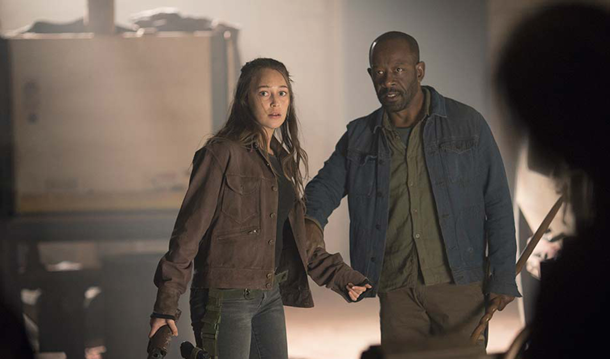 <em>TV Guide</em> Shares Morgan/Alicia Clip; <em>TVLine</em> Features New Season 4 Photos