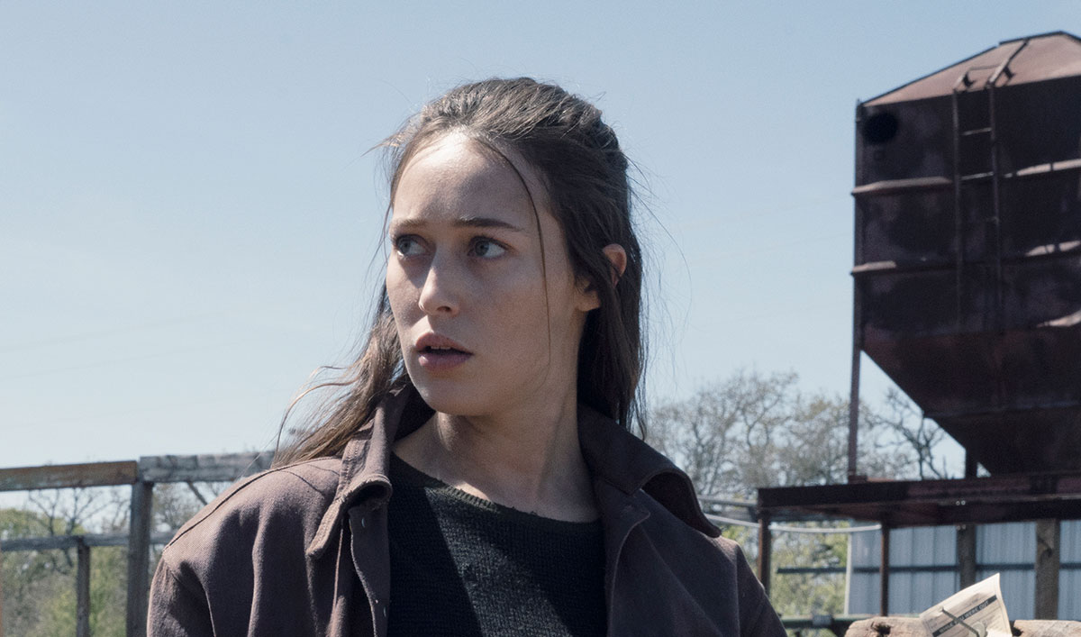 (SPOILERS) <em>Fear the Walking Dead</em> Q&A — Alycia Debnam-Carey (Alicia)