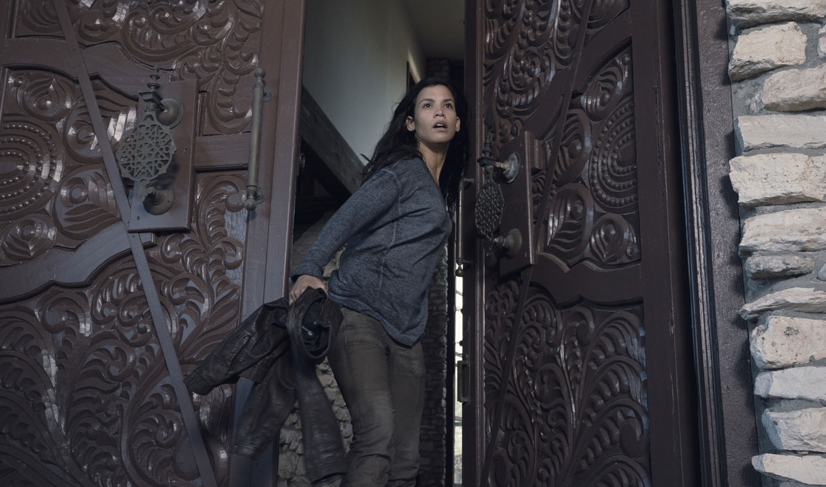 Luciana Has a Tense Reunion With Charlie in the <em>Fear the Walking Dead</em> Mid-Season Premiere