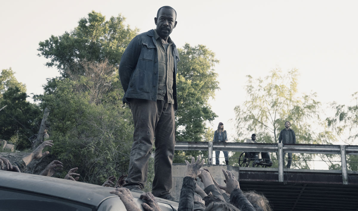 Morgan Barters for His Life in a Scene From <em>Fear the Walking Dead</em> Episode 11
