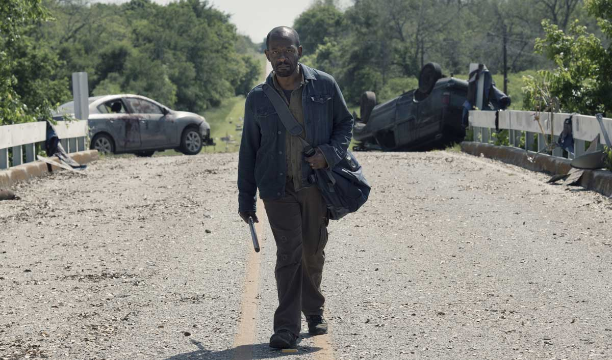 Sneak Peek of <em>Fear the Walking Dead</em> Episode 11 — Morgan Finds Himself at a Crossroads