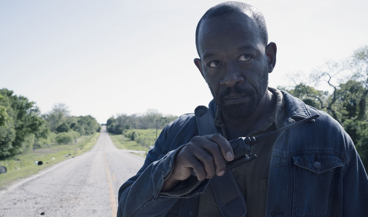 <em>Fear the Walking Dead</em> Cast and Creators on How Morgan's Lie Comes Back to Haunt Him