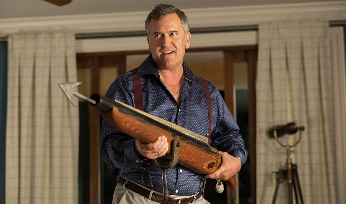 <em>Lodge 49</em> Q&#038;A — Bruce Campbell (Captain)