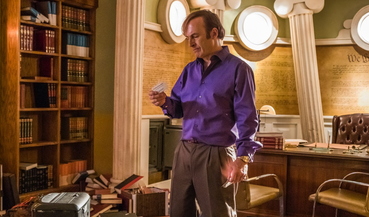 <em>TV Guide</em> Praises <em>Saul</em>; <em>Gold Derby</em> Chats With Bob Odenkirk