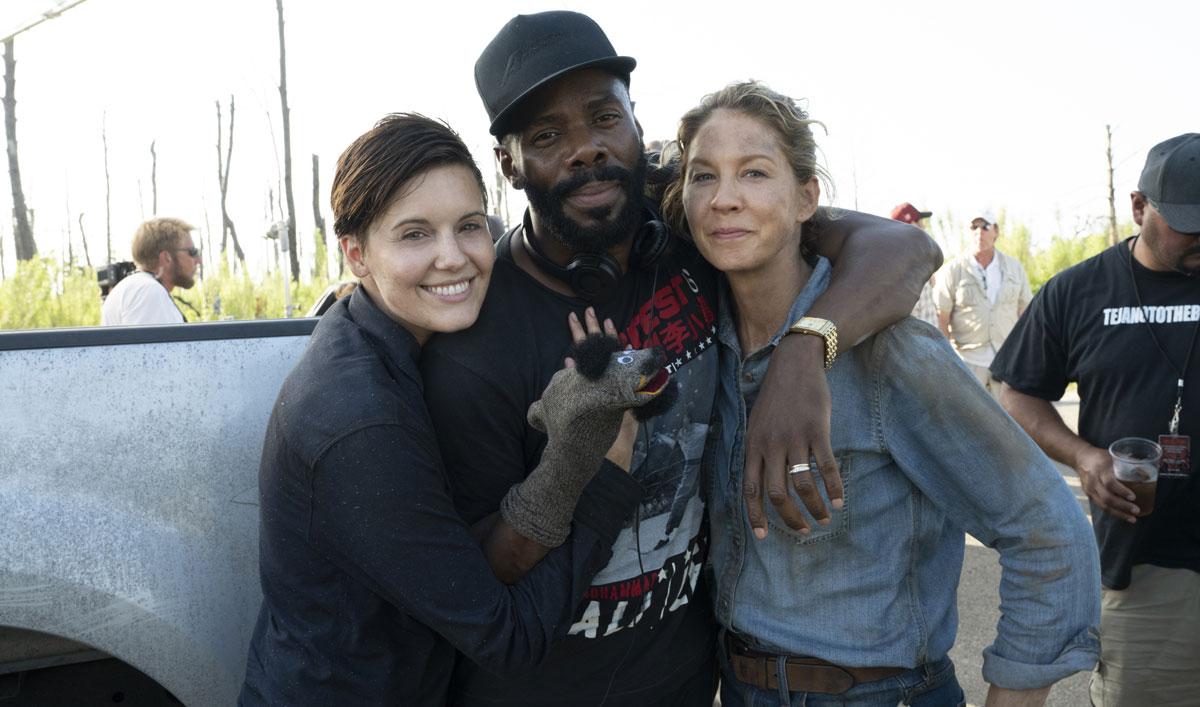 Go on Set as Colman Domingo Steps Behind the Camera for <em>Fear the Walking Dead</em> Episode 12