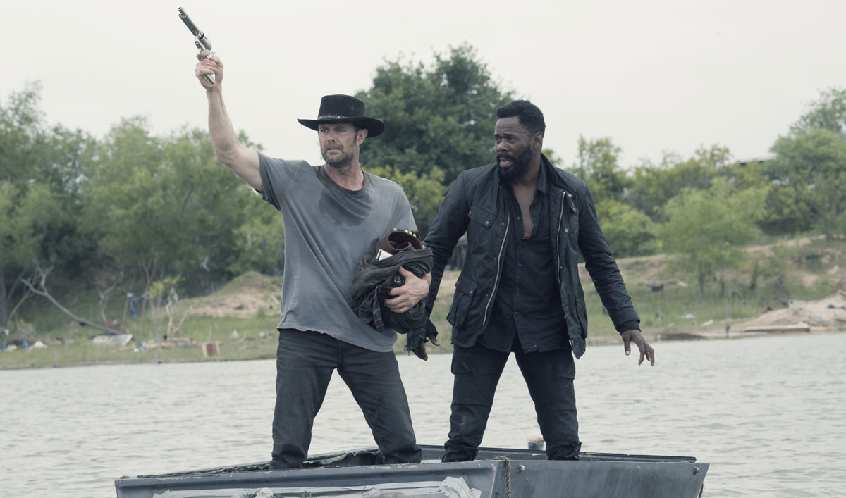 John and Strand Survived the Storm, but Can They Survive Each Other? — Watch <em>Fear the Walking Dead</em> Episode 13 Now