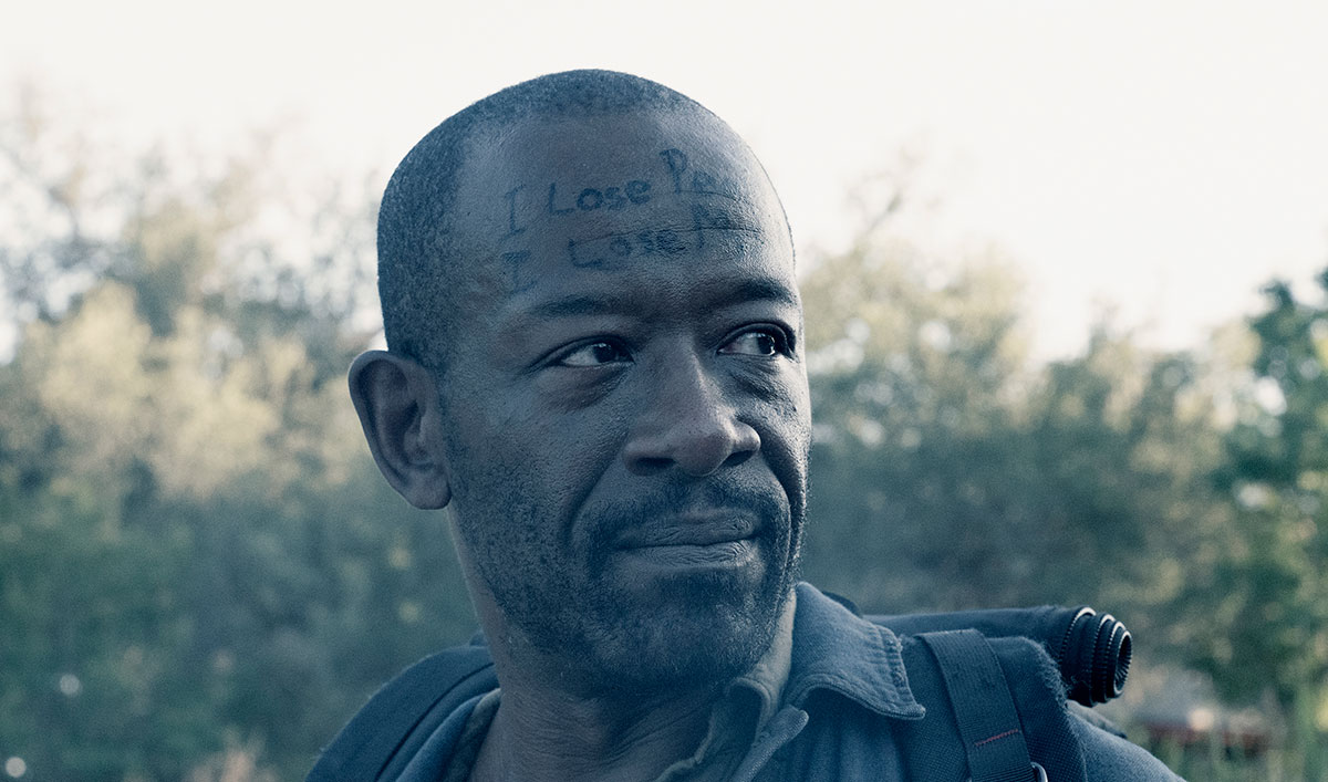 (SPOILERS) <em>Fear the Walking</em> Dead Q&#038;A — Lennie James (Morgan)