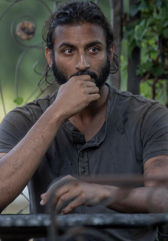 The Walking Dead - Siddiq - AMC